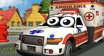 Crazy ambulance city racer 3d