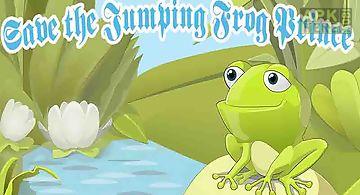 Flying golden frog jump - save t..