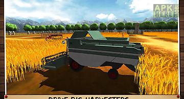 Harvest tractor farmer 2016
