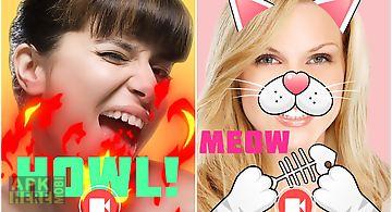 Live emoji face swap emoticons