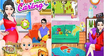 Newborn baby care games