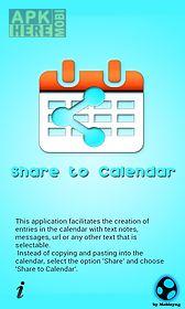 share to calendar