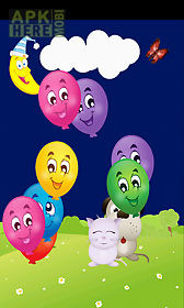 baby touch balloon pop game