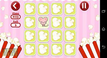 Cute memory match