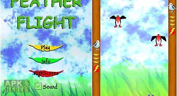 Feather flight