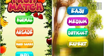 Free fruit match