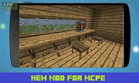 Furniture Mod For Minecraft Pe For Android Free Download At Apk Here
