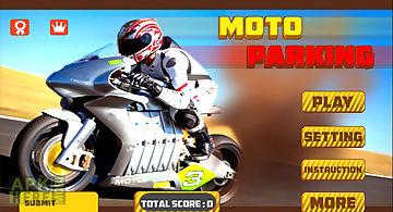 Moto parking 3d