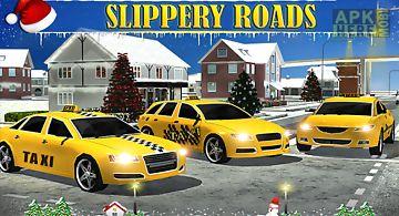 Christmas taxi duty 3d