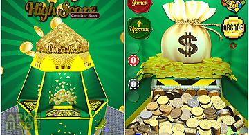 Coin pusher gold