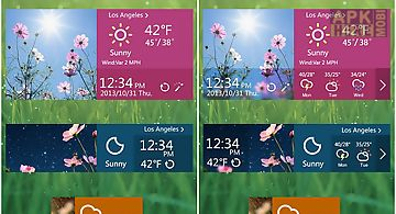 Flower reward theme go weather