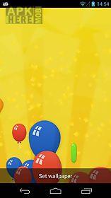 party balloons live 3d wallpaper live wallpaper