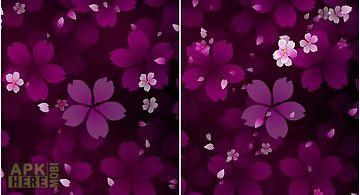 Sakura falling  Live Wallpaper