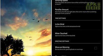 Sunset hill Live Wallpaper
