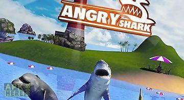 Angry shark: simulator 3d