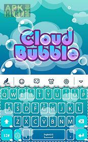 cloud bubble for keyboard