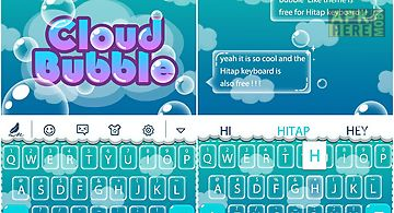 Cloud bubble for keyboard