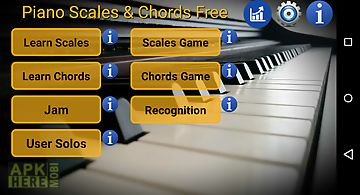 Piano scales & chords free