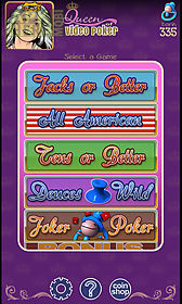 queen of video poker