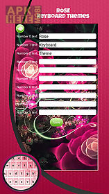 rose keyboard themes