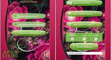 Rose keyboard themes