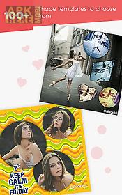 collage art - collage maker