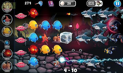 Fish vs pirates for Android free download at Apk Here store