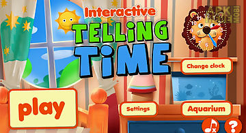 Interactive telling time free