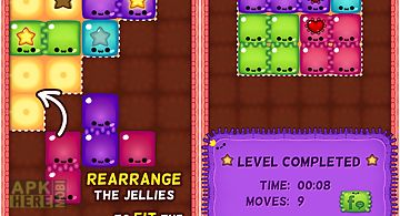 Jelly fit - fun puzzles