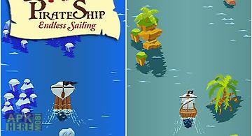 Pirate ship: endless sailing