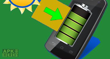 Solar charger android prank