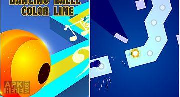 Dancing ballz: color line