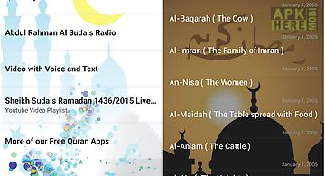 Audio quran by abdul al sudais