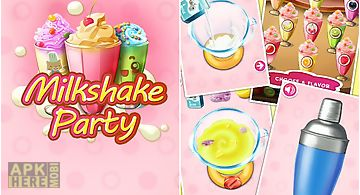 Drink maker: frozen milkshake