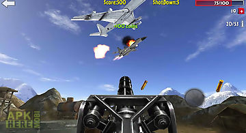 Flight gun 3d