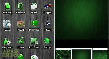 Green adw theme