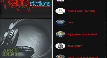 Hip hop radio stations