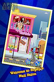 sophy's nail salon– girls game