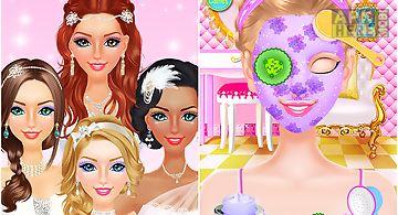 Wedding day spa! bride & groom
