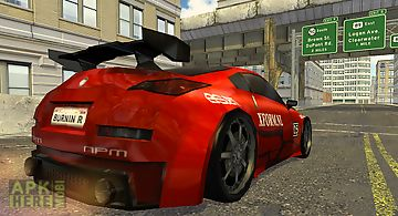 Axel stunt driver city streets