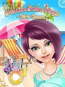fashion salon stage: girl game