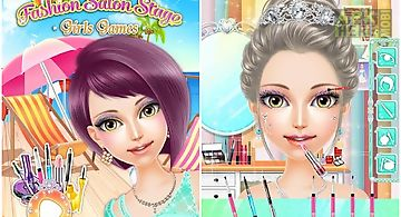 Fashion salon stage: girl game