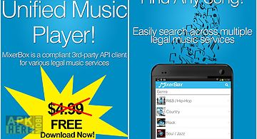 Mixerbox: unified music player