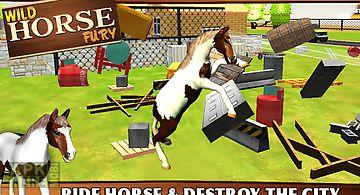 Wild horse fury - 3d game