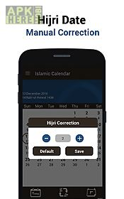 Islamic hijri calendar for Android free download at Apk Here