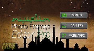 Muslim photo frames editor pro