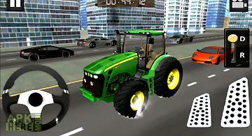 Tractor simulator : city drive