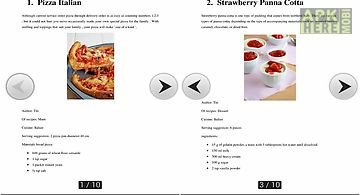 Ebook recipes of top 5 italian c..