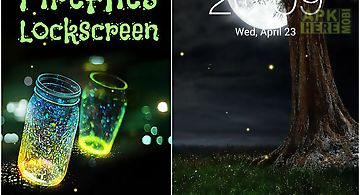 Fireflies: lockscreen