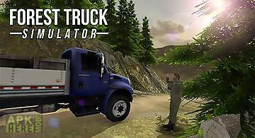 Forest truck simulator
